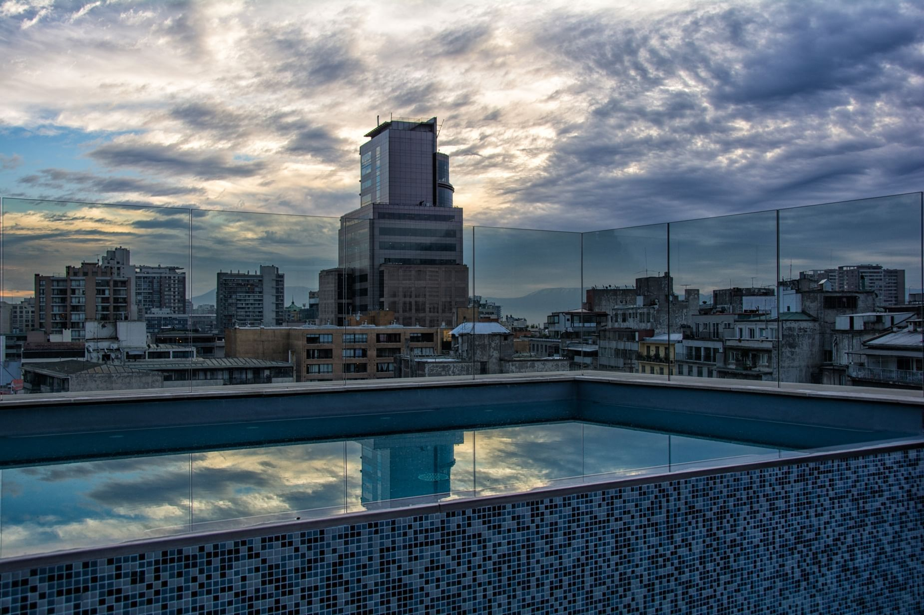 Rooftop Bar Santiago Hotel