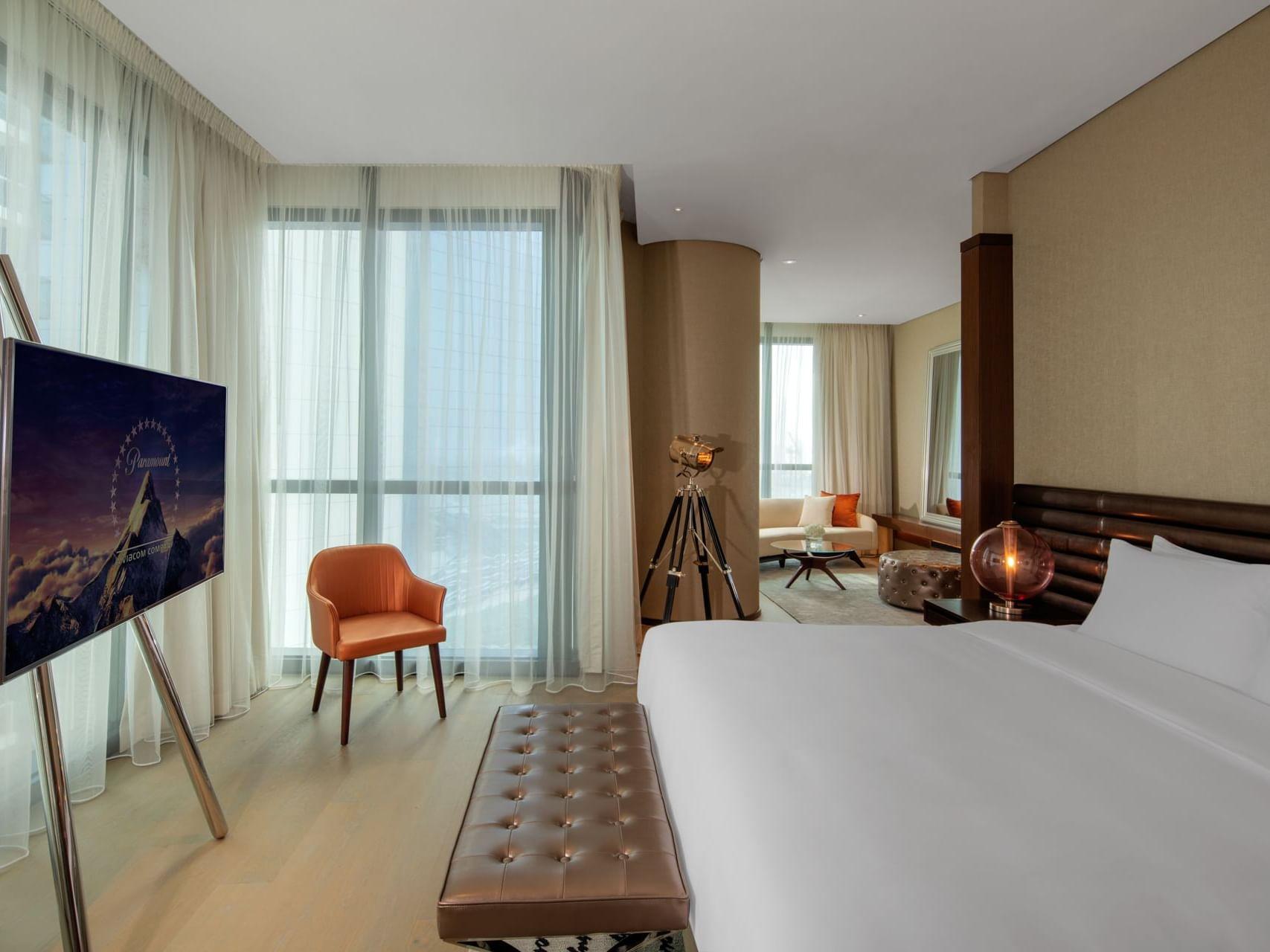 迪拜派拉蒙酒店舞台客房