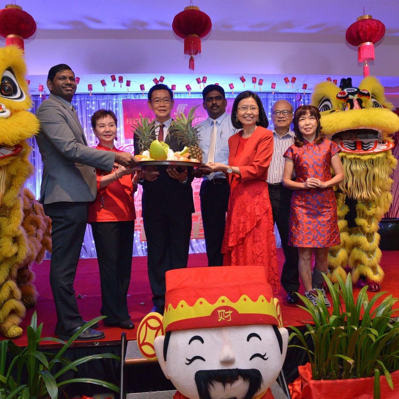 FEDERAL HOTELS INTERNATIONAL (FHI) GROUP GONG XI FA CAI FESTIVE CHARITY TREAT