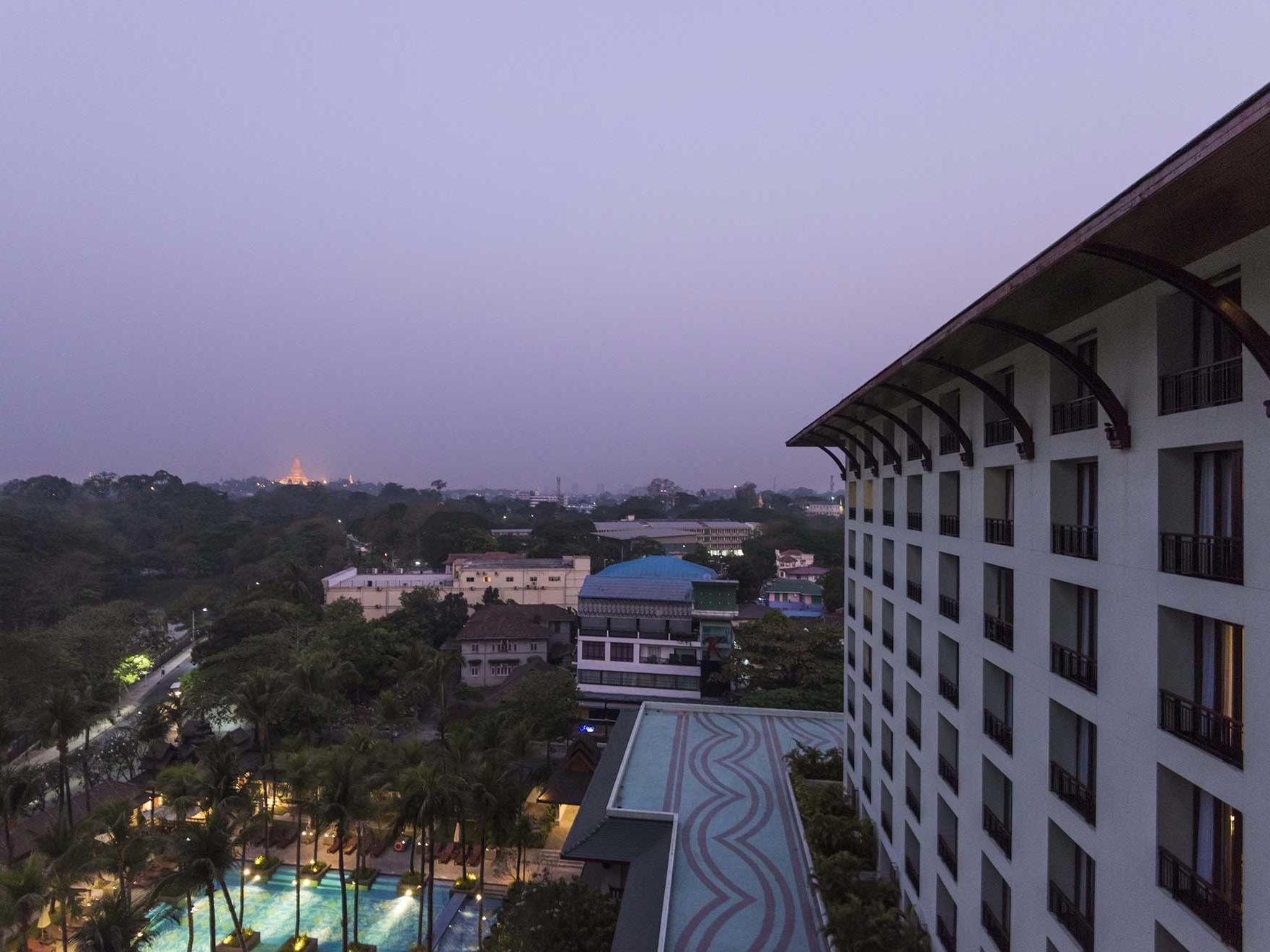 Chatrium club deluxe city view at Chatrium Royal Lake Yangon