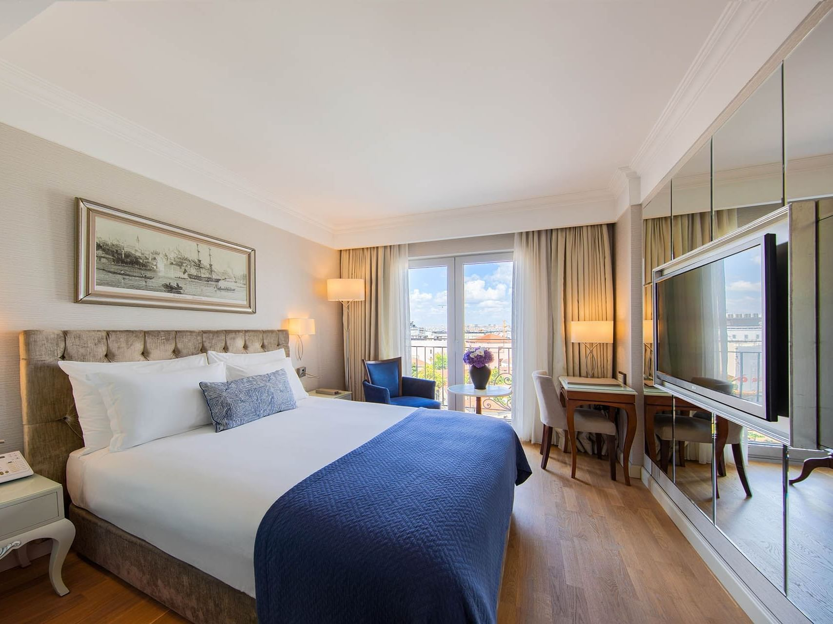 Superior Room with one bed at CVK Taksim Hotel Istanbul