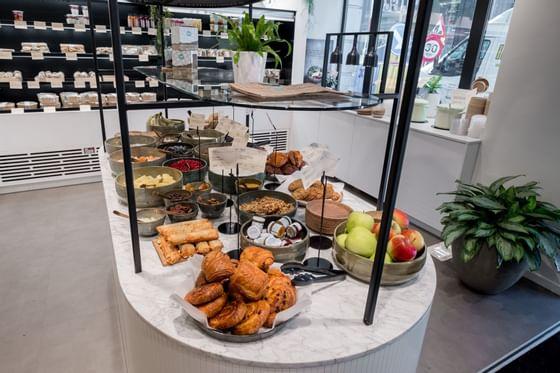 Breakfast at Hotel Hubert Brussels