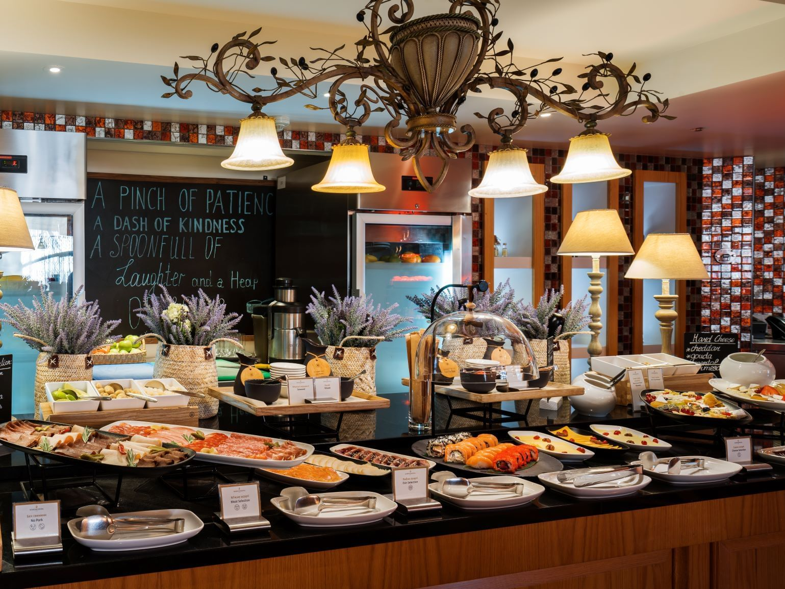 Olivera restaurant at Intercontinental Kyiv hotel