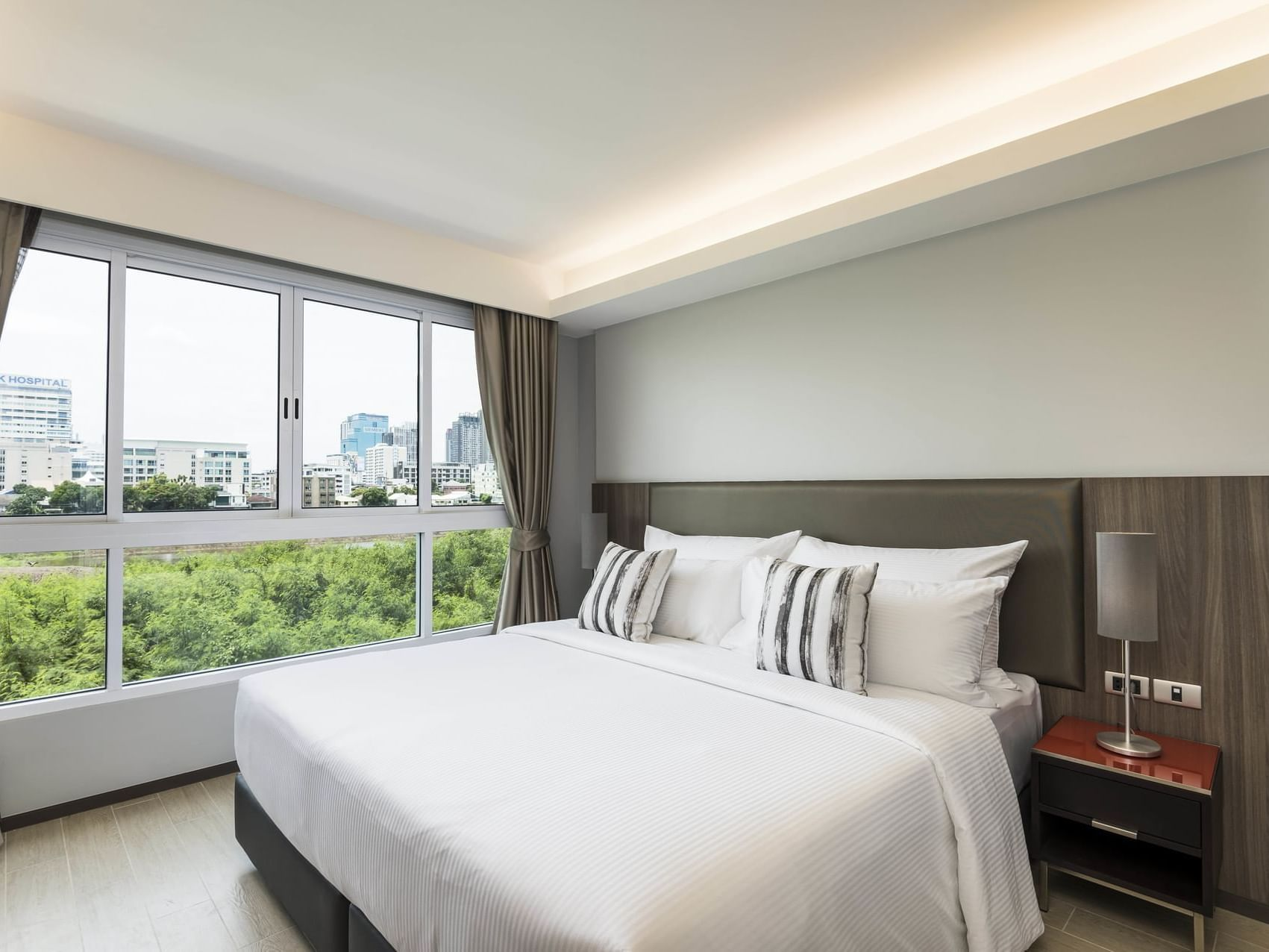 Grand deluxe two bedroom Residence at Maitria Hotel Rama 9