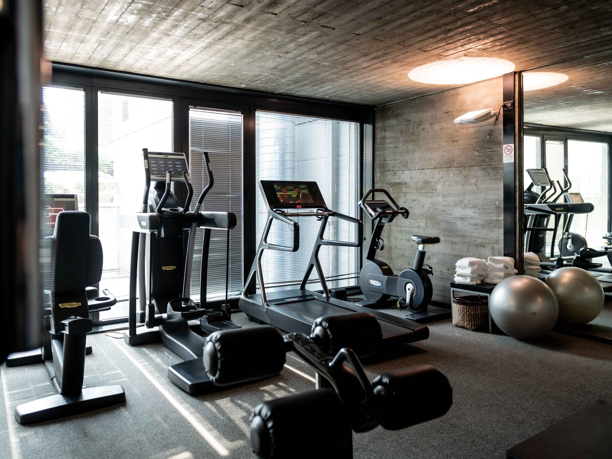 Hotel in Turin with gym   DUPARC Contemporary Suites