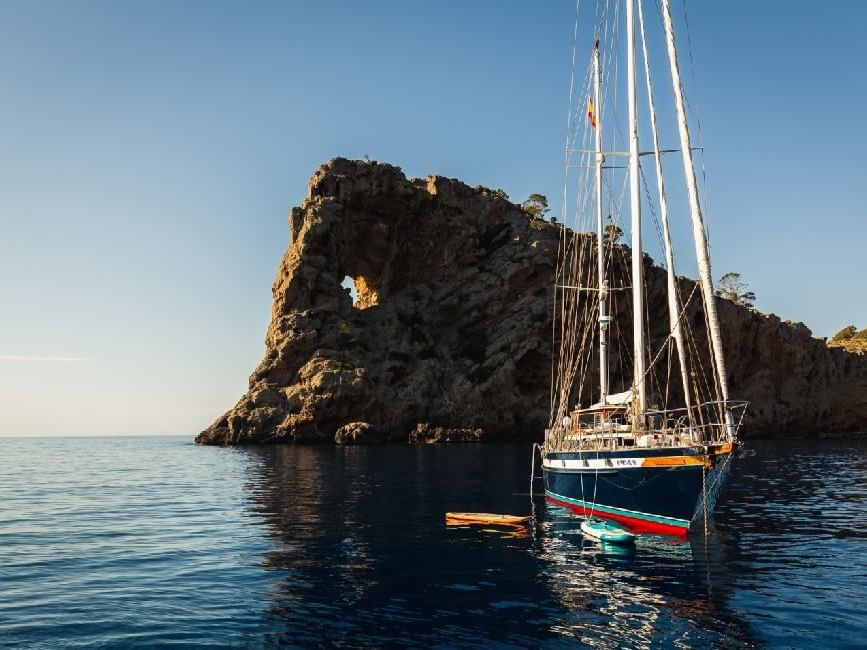 Bootsfahrt zur Foradada