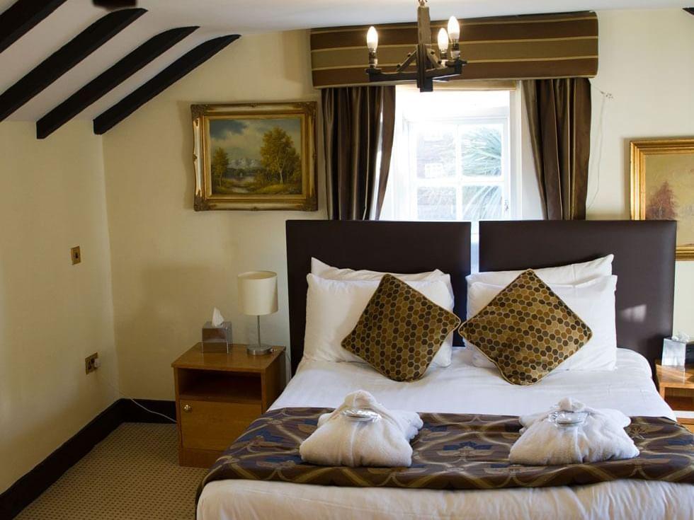 Period Room at Barn Hotel Ruislip near London