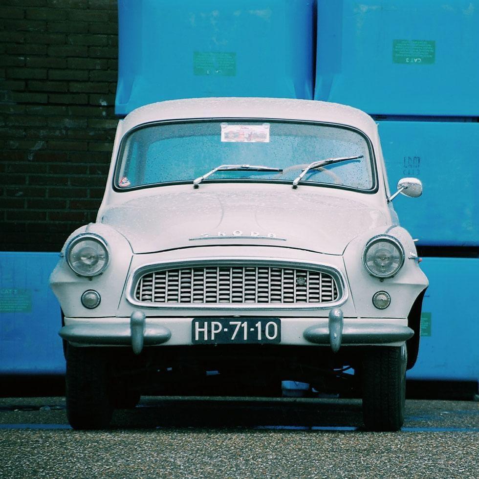 Old Car in Post Communist Bratislava tour near Falkensteiner Hotel Bratislava