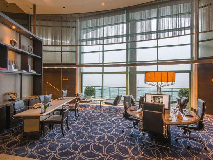 View of Business Center at Chatrium Hotel Riverside Bangkok