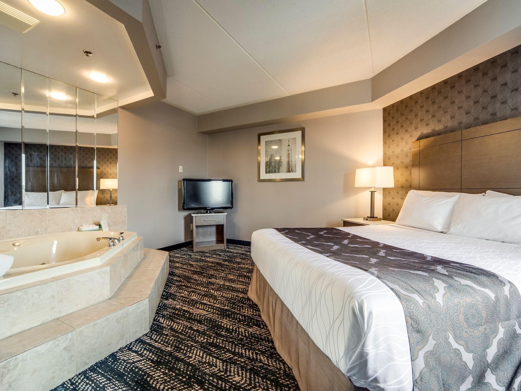 Queen Studio Suite with Separate Seating Area - Brampton