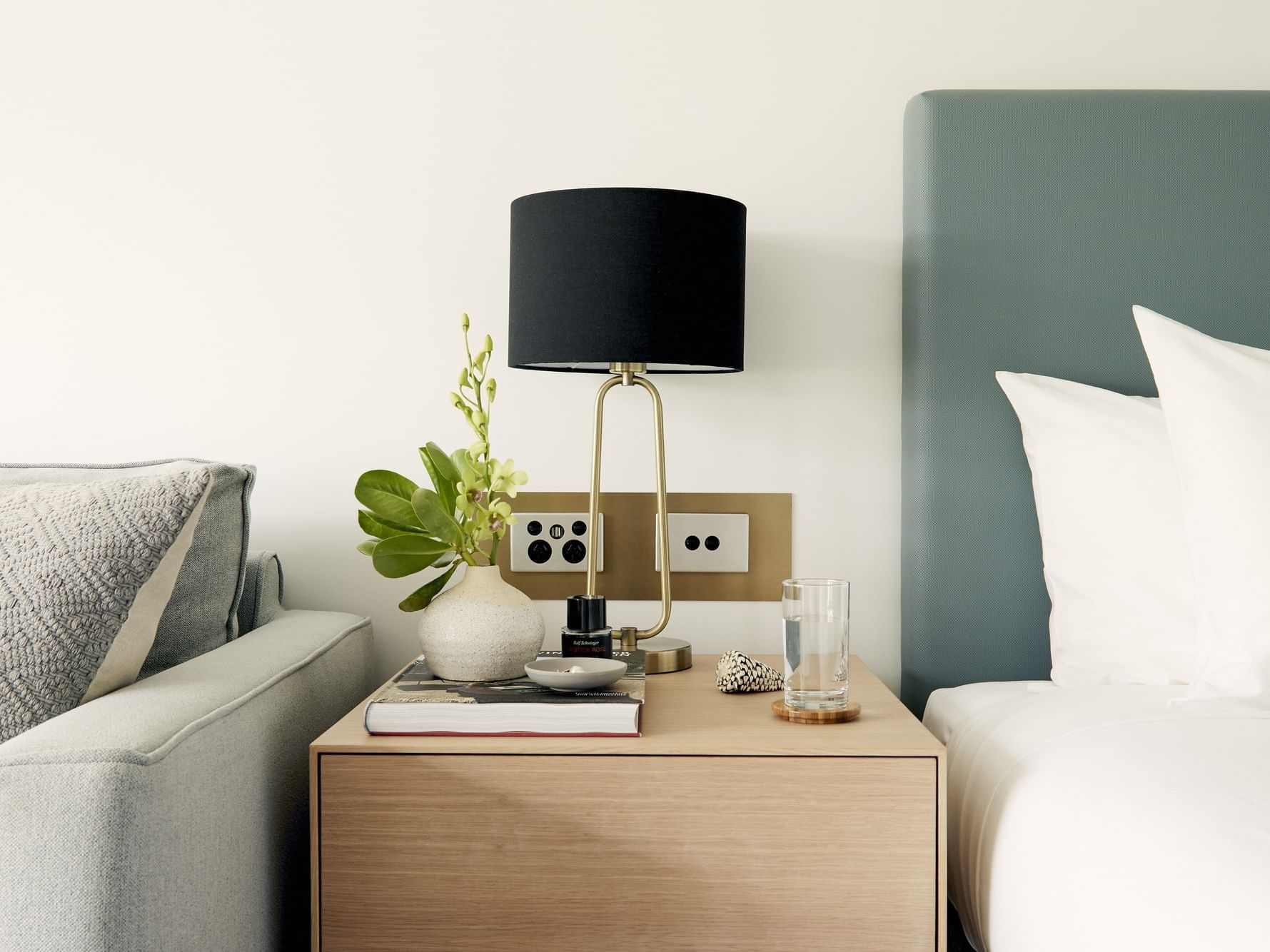Lampshade in Resort Room at Daydream Island Resort