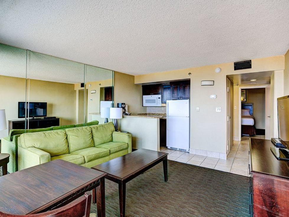 Onebedroom suite oceanfront deluxe at Diamond Resorts Virginia Beach