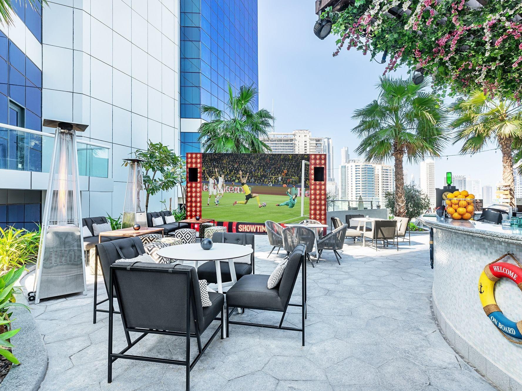 Malibu Bay at Paramount Hotel Dubai