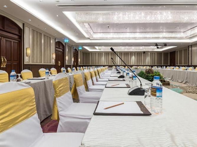 View of Arcade Meeting Room at Chatrium Hotel Royal Lake Yangon