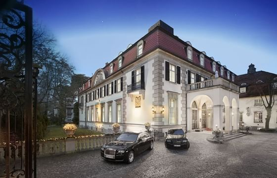 Exterior View in the evening of Patrick Hellman Schlosshotel