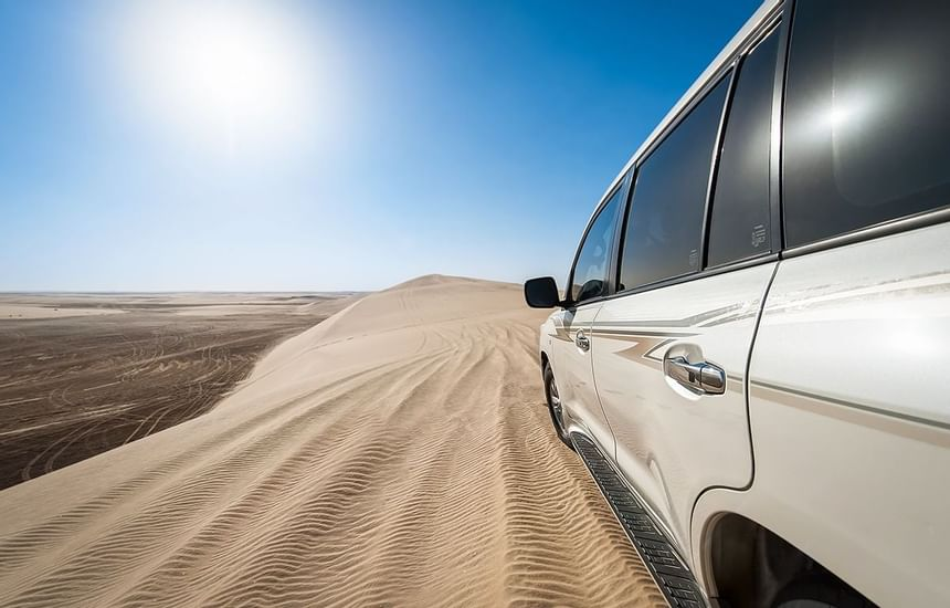 Desert Safari with SUV in Sealine Beach Resort