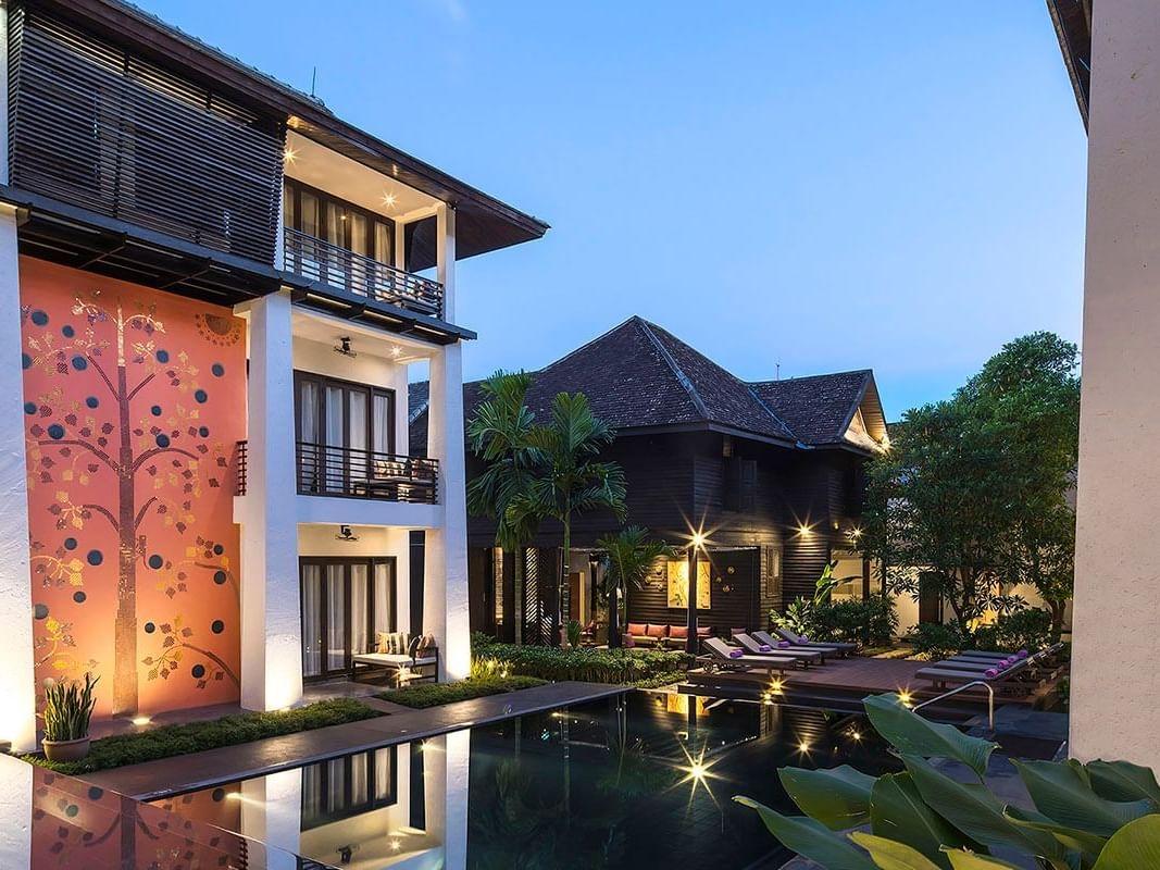 Hotel Exterior of U Chiang Mai at U Hotels and Resorts