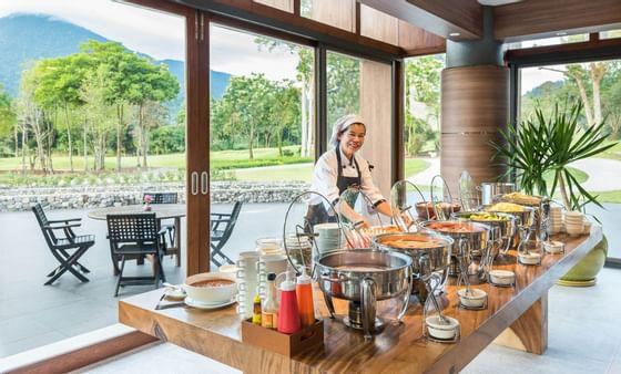 索伊道餐厅早餐