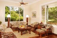 Living Room at Waimea Plantation Cottages
