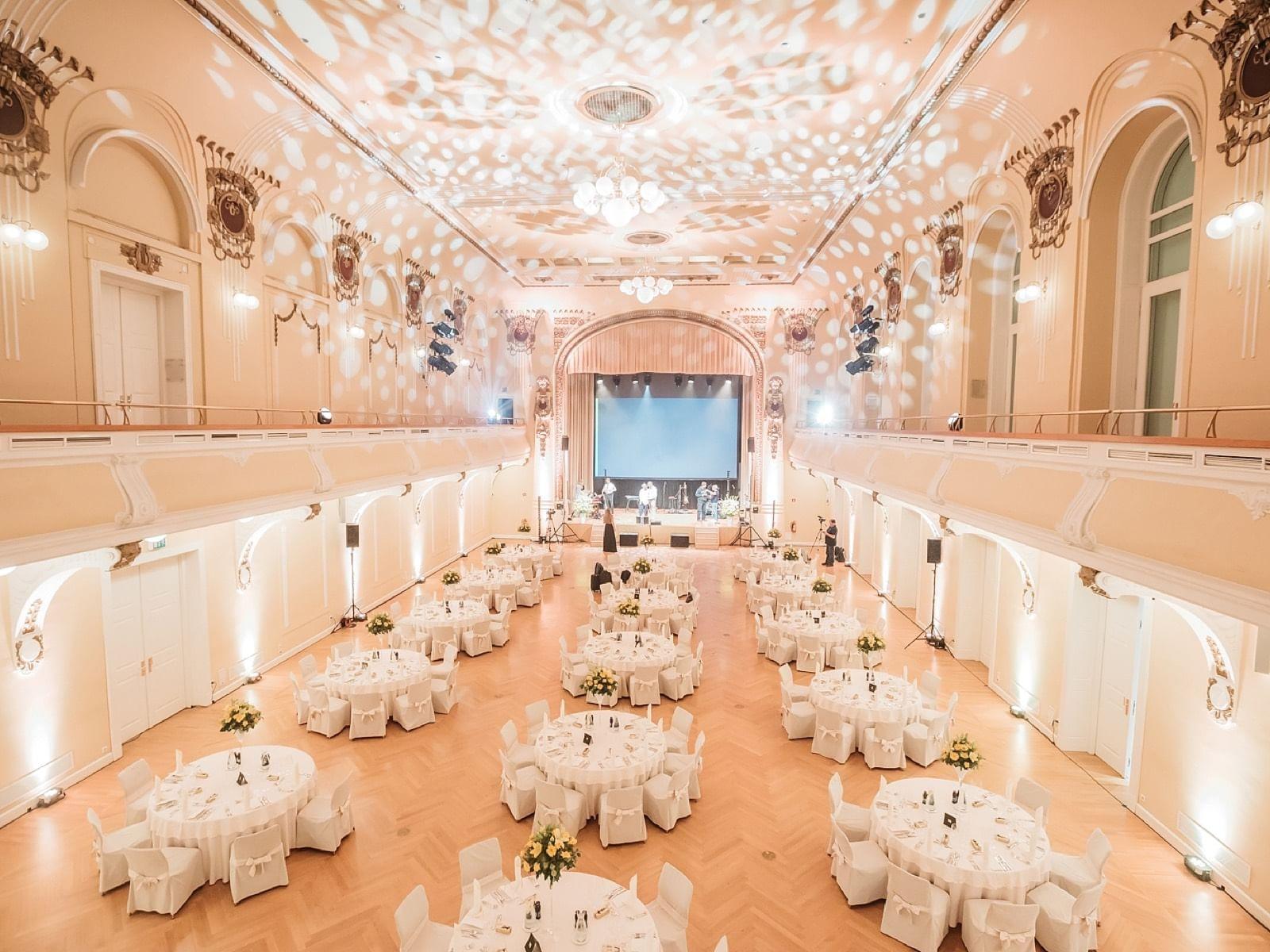 Events spaces at Grand Hotel Union in Ljubljana