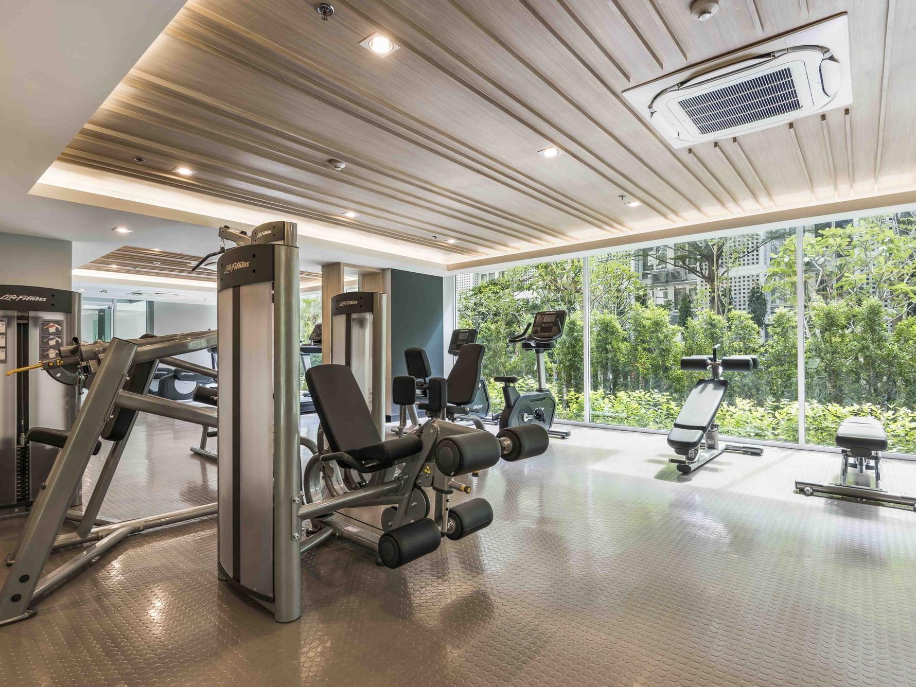 View of Fitness center at Maitria Hotel Rama 9 Bangkok