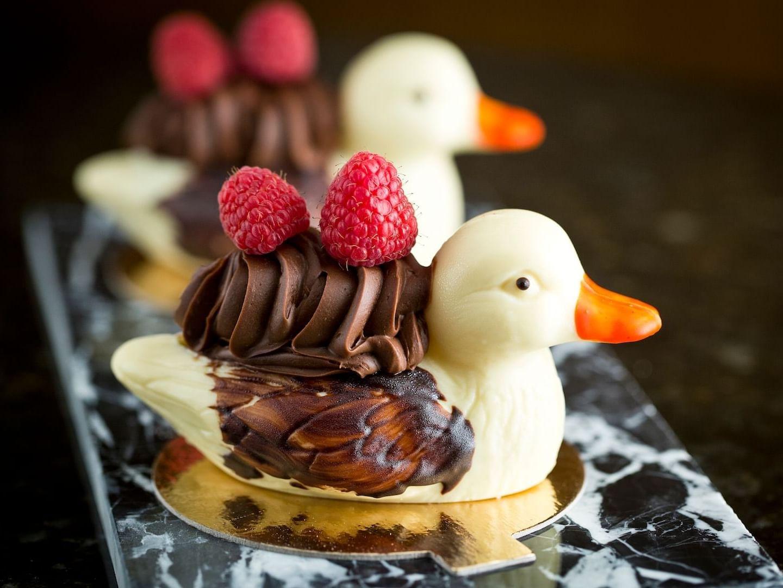 White Chocolate Duck