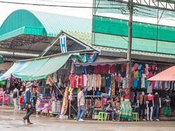 Cambodian Border Market near Chatrium Golf Resort Soi Dao Chanthaburi