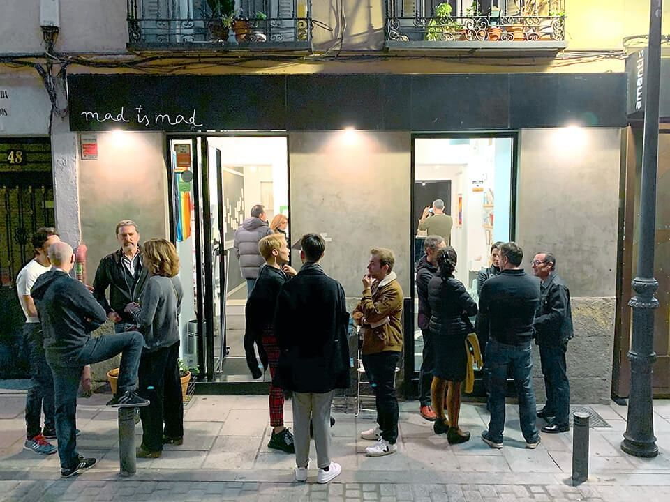 Mejores galerías de arte en Madrid Galería Mad is Mad