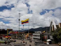 Corferias convention center near Bogotá Plaza Hotel