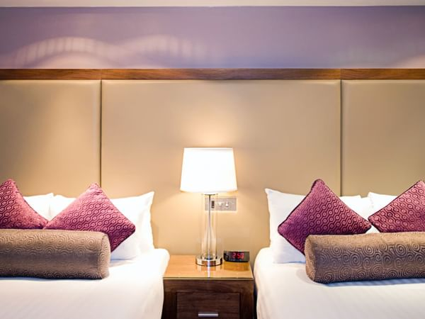 Two Double Beds room at Sandman Signature London Gatwick Hotel