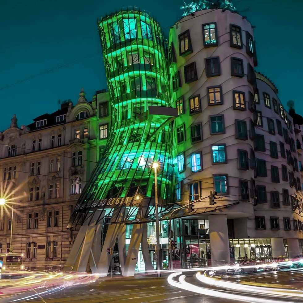 Dancing House near Falkensteiner Hotels and Residences