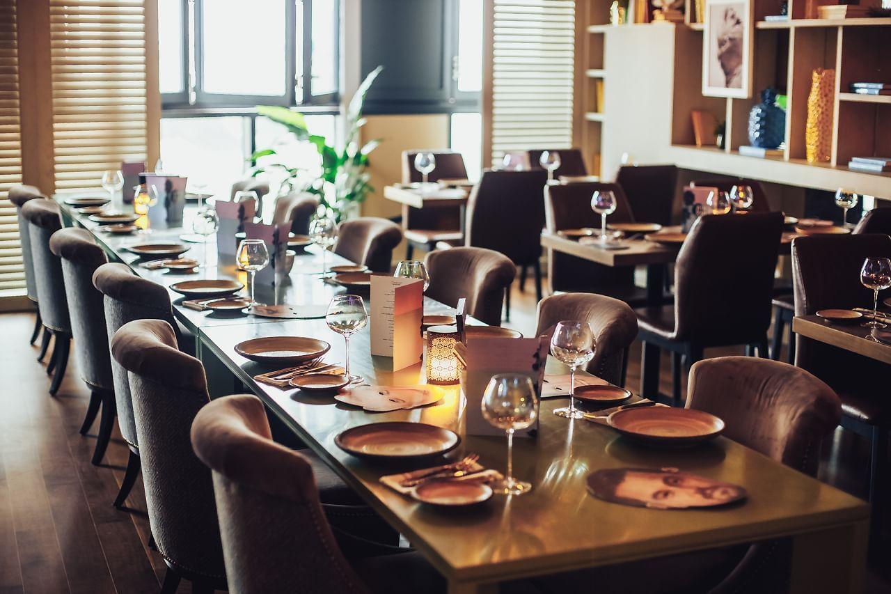 Restaurant at Paramount Hotel Dubai
