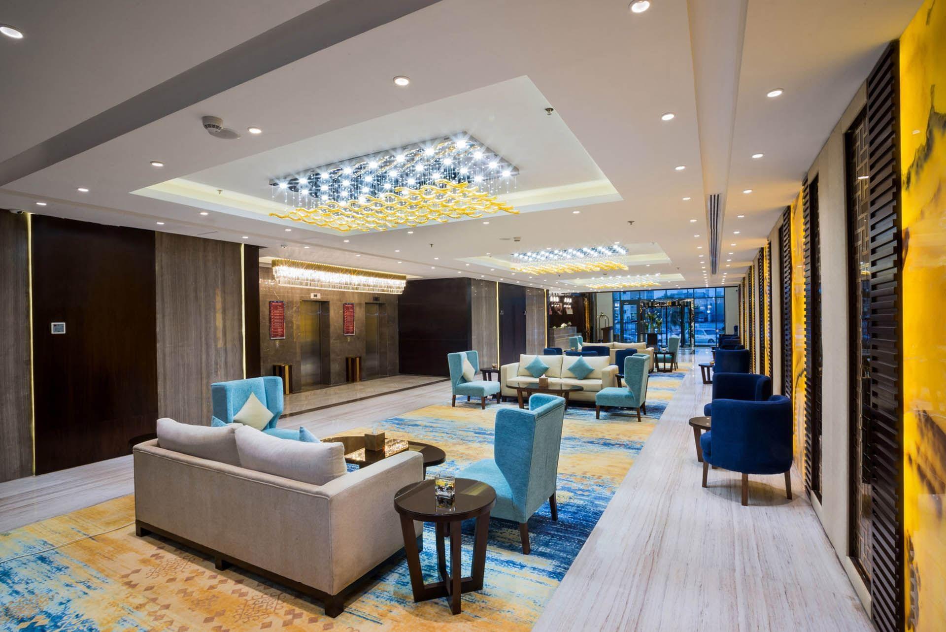 Lobby and Lounge Area at Naviti by Warwick Dammam