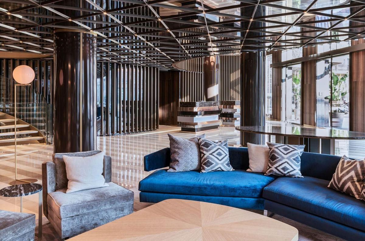 Inspired Space lobby at Almanac Barcelona