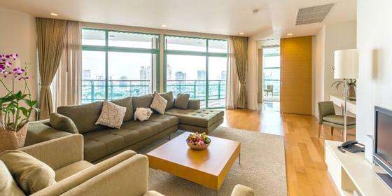 Chatrium Residence Riverside Bangkok Apartment