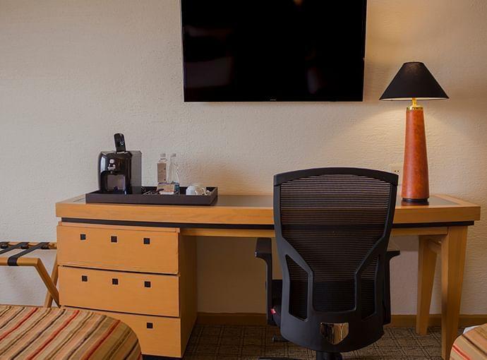 Comfortable sitting rooms in Hotels Grupo Guadalajara