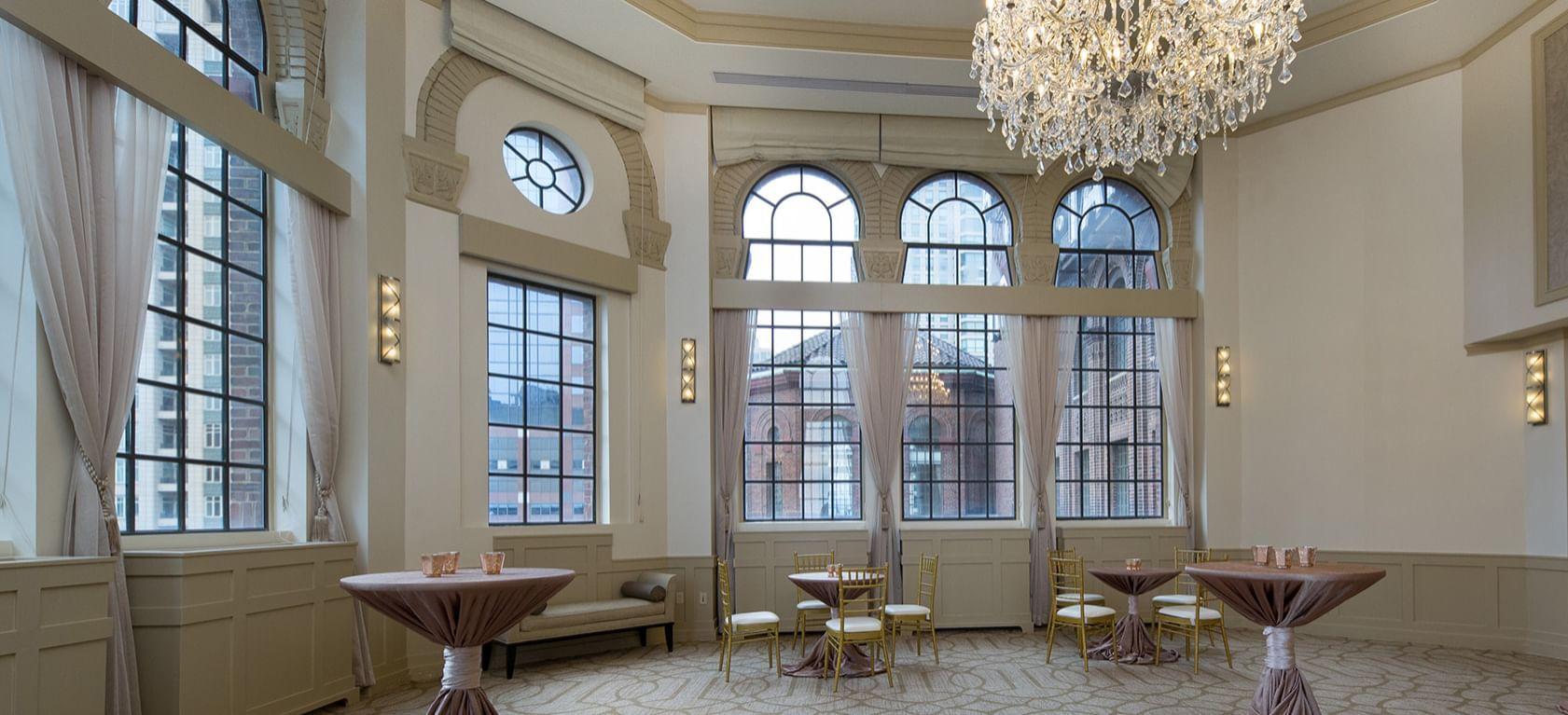 Ballroom at Warwick Hotels and Resorts