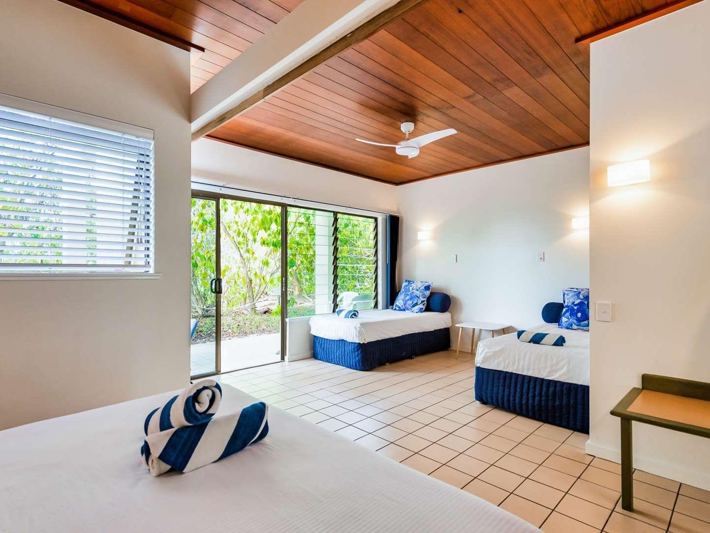Reef Family Room at Heron Island Resort in Queensland, Australia