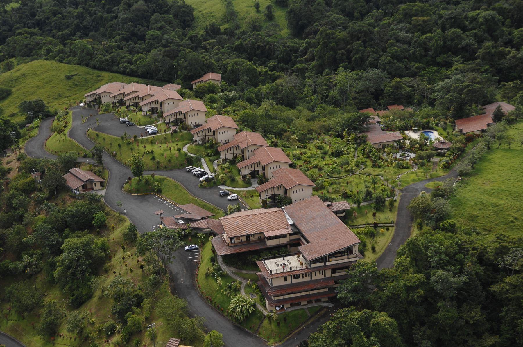 Vista Arial del Hotel