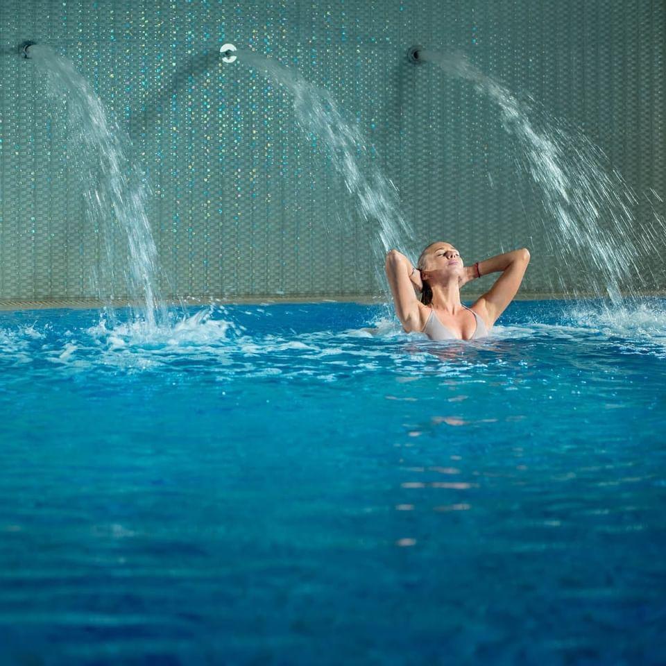 Fully relax Swimming pool Intercontinental Kyiv hotel