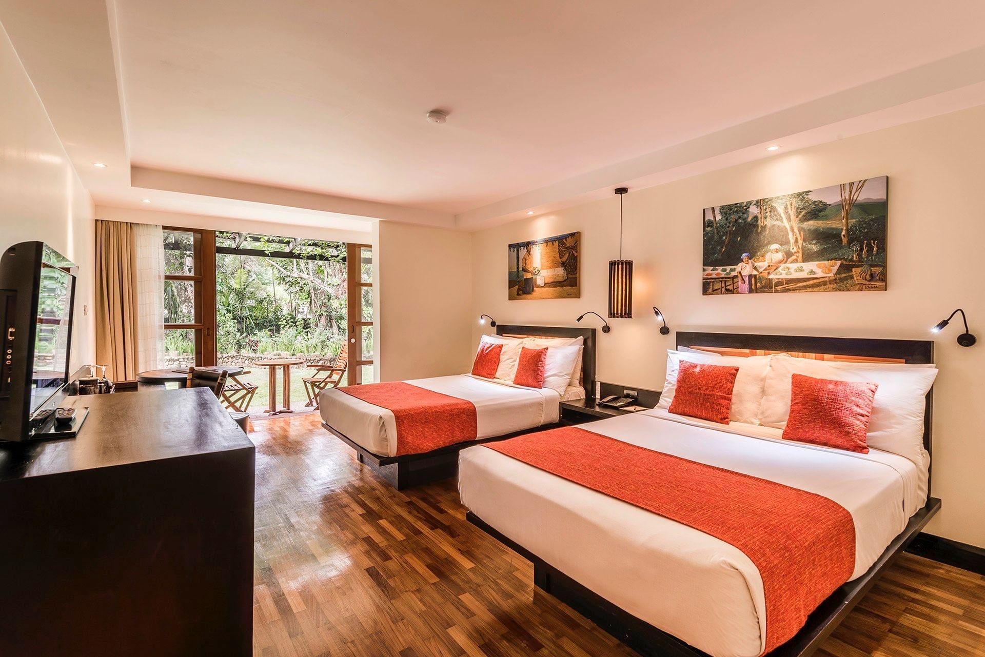 Garden View room double double at Warwick Fiji