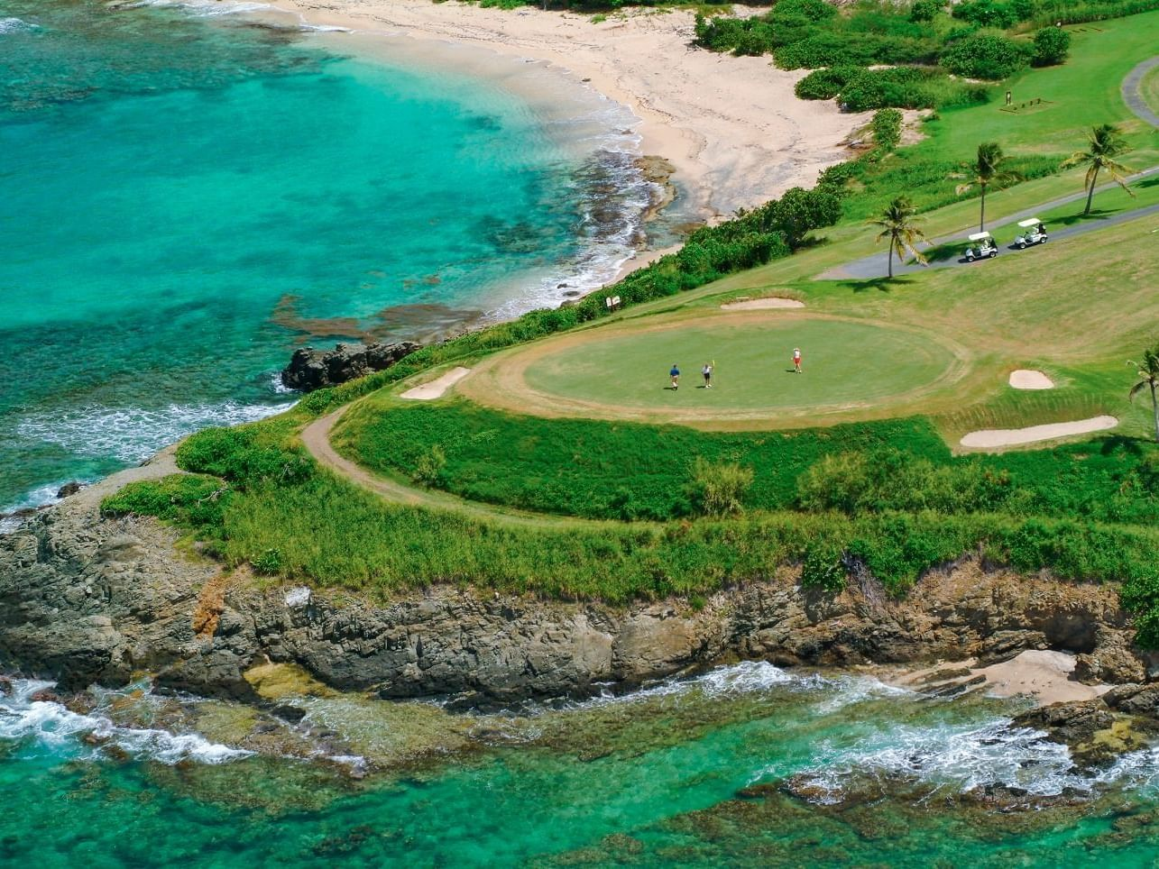 Buccaneer Golf Course Aerial View