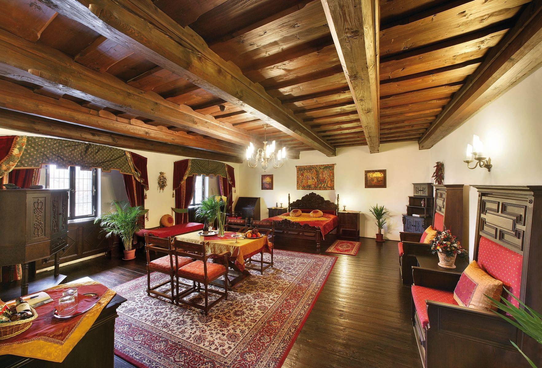 Deluxe Suite at Hotel Ruze, Český Krumlov, Czech Republic