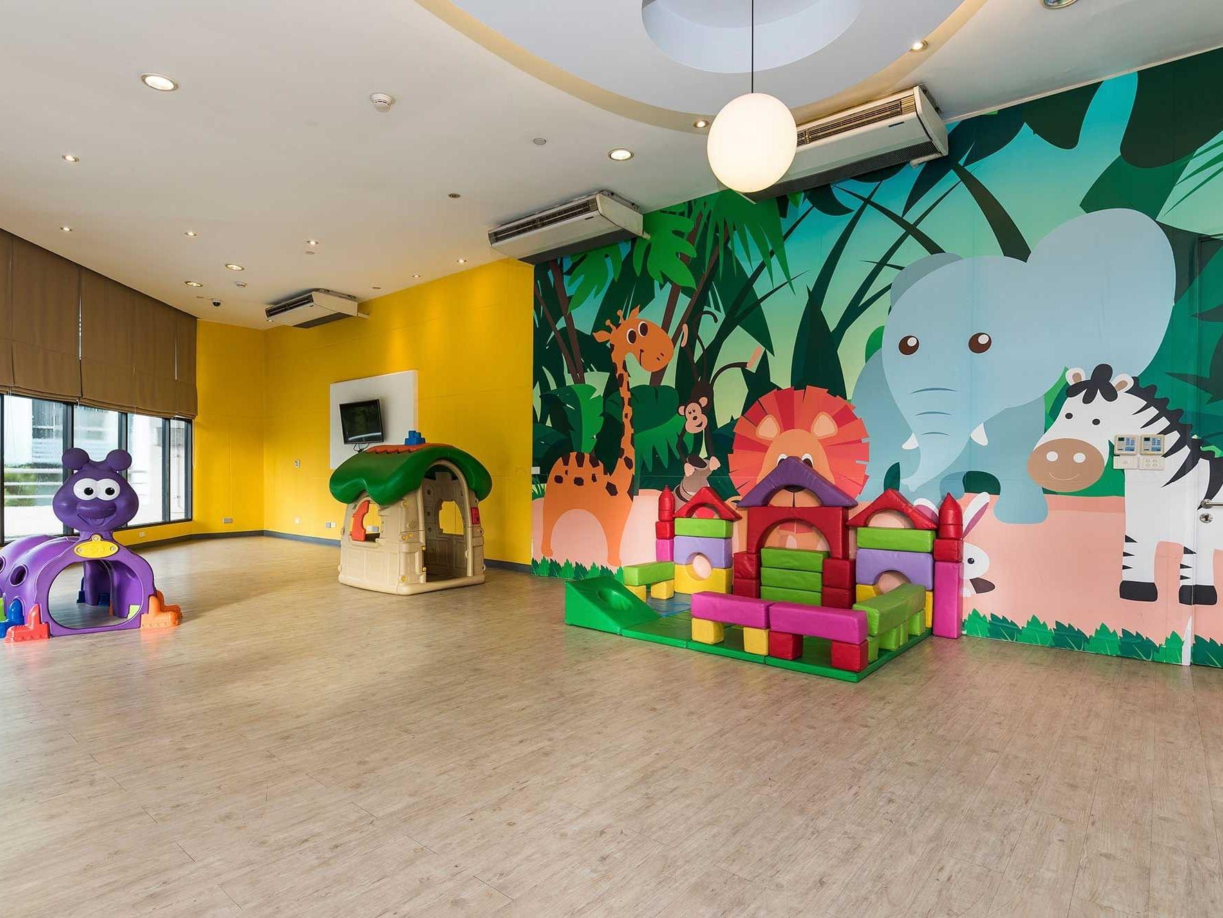 View of Kids zone at Chatrium Residence Sathon Bangkok