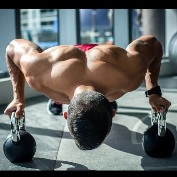Push with Kettle Bells