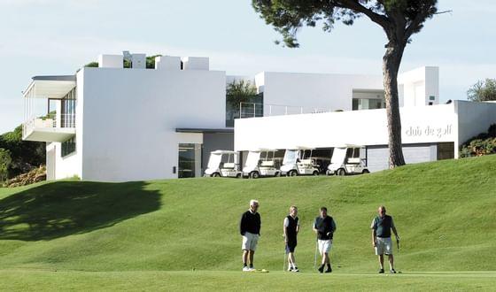 men playing golf at Precise Resort El Rompido