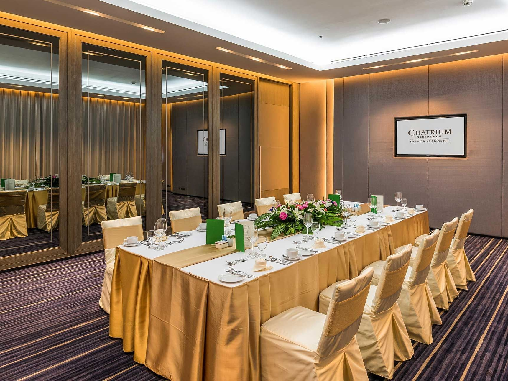 View of Summer Room at Chatrium Residence Sathon
