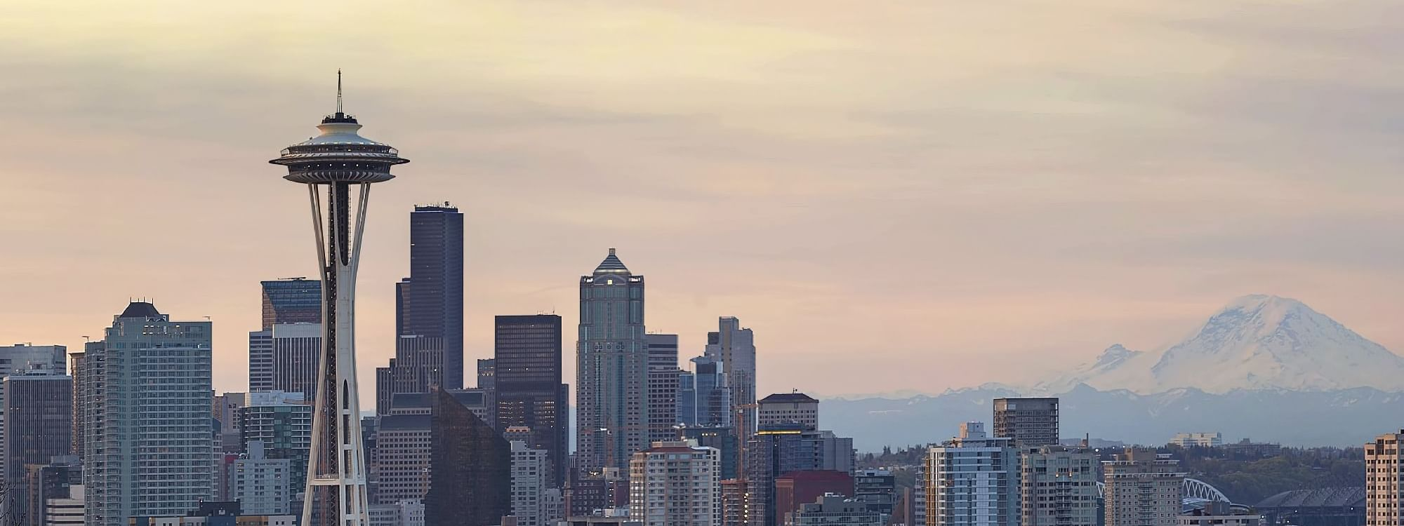 Seattle Overview Winter