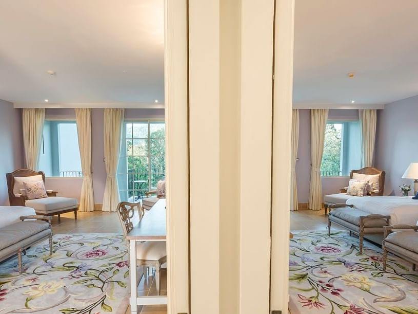 Deluxe Family Connecting room at U Hotels and Resorts