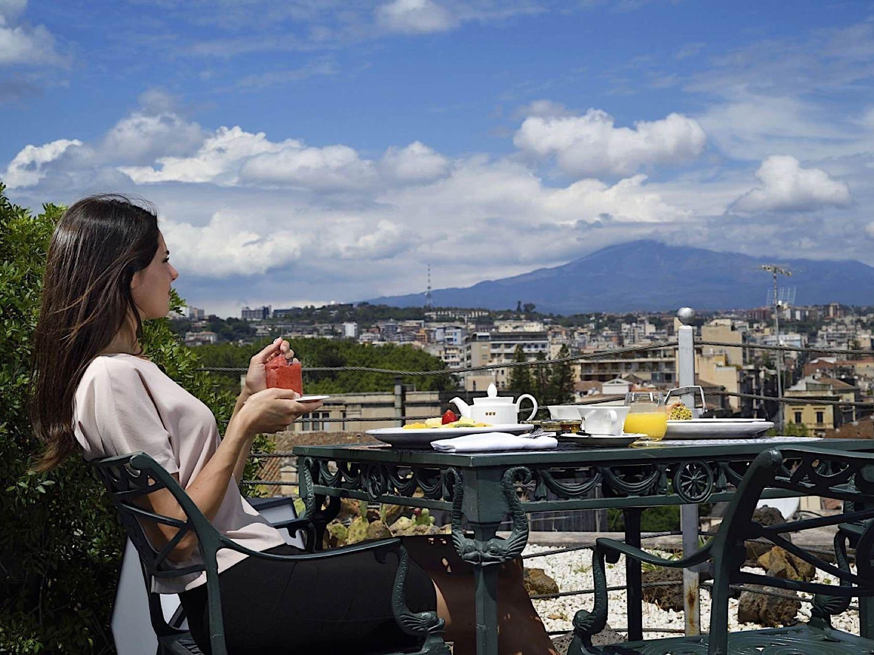 Ristorante Catania con terrazza: Etnea Roof Bar & Restaurant by